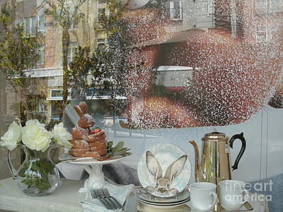 Morning Blush Art Print by Jacqueline Manos