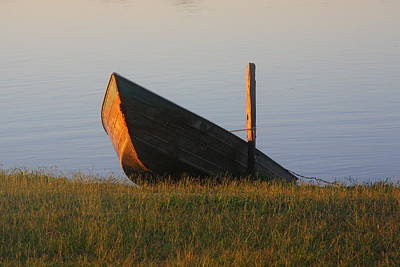 Photograph - Morning Boat by Nareeta Martin