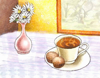 Digital Art - Morning Break by Ruth Moratz