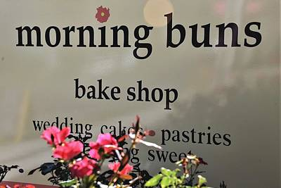 Photograph - Morning Buns Bake Shop by Kim Bemis