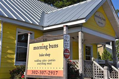 Photograph - Morning Buns Sign by Kim Bemis