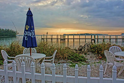 Photograph - Morning By The Bay by HH Photography of Florida