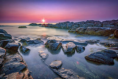Photograph - Morning Calm On Marginal Way by Rick Berk