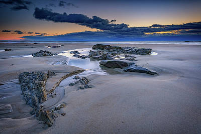 Coastal Maine Photograph - Morning Calm On Wells Beach by Rick Berk
