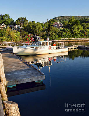 Photograph - Morning, Camden, Maine  -54100 by John Bald