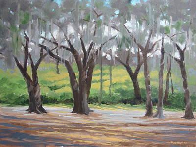 Morning Canopy Art Print by Robert Rohrich