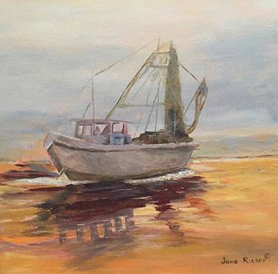 Painting - Morning Catch by Jane Ricker