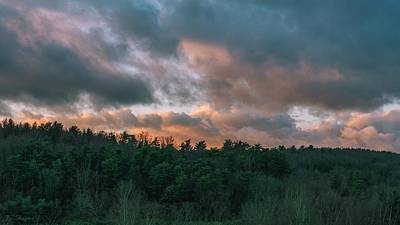 Photograph - Morning Clouds by Brian Shepard