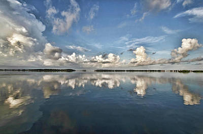 Photograph - Morning Clouds by HH Photography of Florida