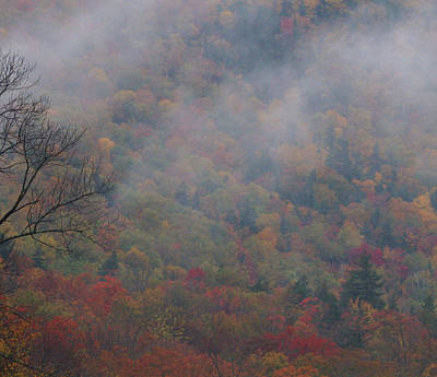Photograph - Morning Clouds On White Mountains In Autumn by Dan Sproul
