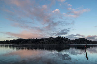 Photograph - Morning Clouds Over Stone Lagoon by Greg Nyquist