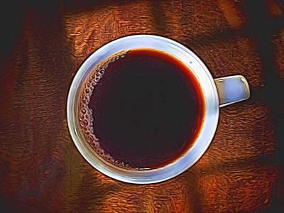 Digital Art - Morning Coffee by Gary De Capua
