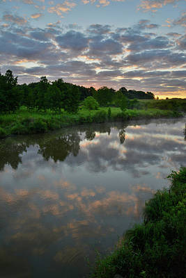 Photograph - Morning Comes To Glacial Park In Mchenry County by Ray Mathis