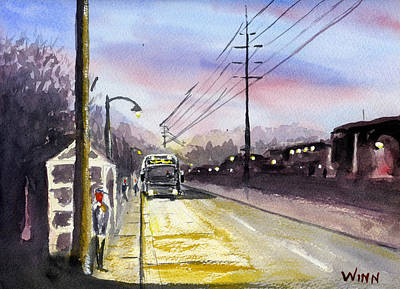 Painting - Morning Commute by Brett Winn