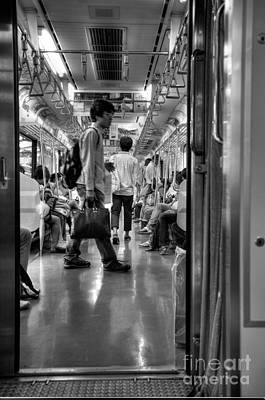 Photograph - Morning Commuters by David Bearden