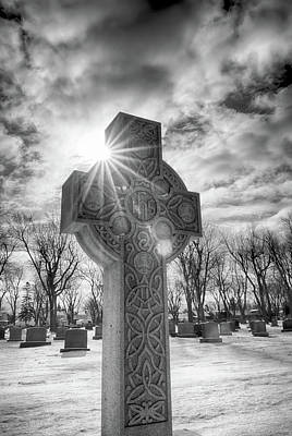 Photograph - Morning Cross by Guy Whiteley