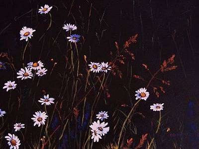 Painting - Morning Daisies by Deahn      Benware