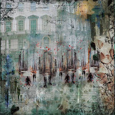 Mixed Media - Morning Dance by Nicky Jameson