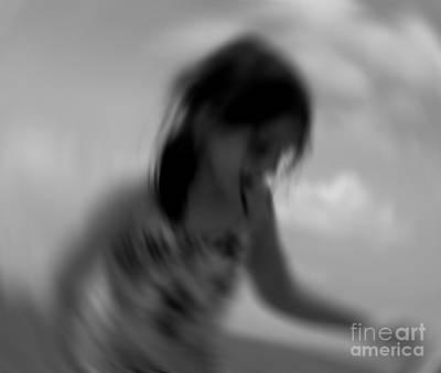 Dancer Mixed Media - Morning Dancer by Lucie Lenzket