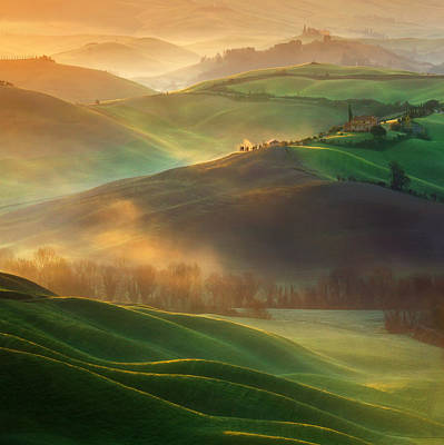 Agriculture Photograph - Morning Dreams by Krzysztof Browko