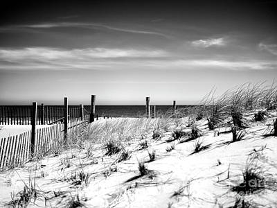 Photograph - Morning Dune View by John Rizzuto