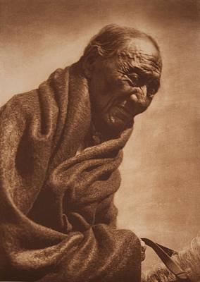 Morning Eagle - Piegan 1910 , Native American By Edward Sheriff Curtis, 1868 - 1952 Art Print
