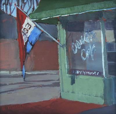 Espresso Painting - Morning Espresso by Bill Tomsa