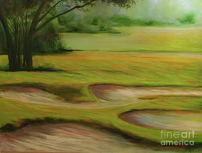 Morning Fairway Art Print by Michele Hollister - for Nancy Asbell