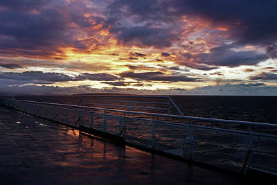 Photograph - Morning Ferry - 365-308 by Inge Riis McDonald