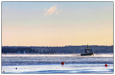 Photograph - Morning Ferry by John Meader