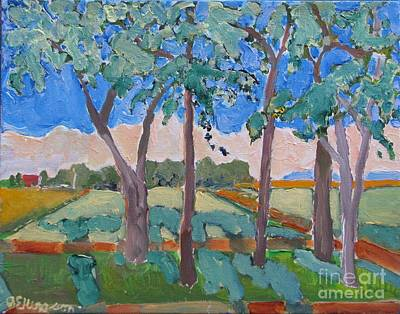 Painting - Morning Fields by Rodger Ellingson