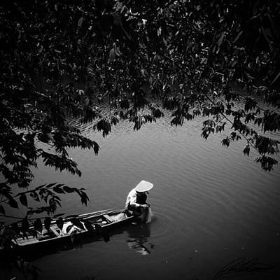 Photograph - Morning Fishing Vietnam Photo By by Paul Dal Sasso