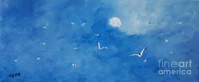 Painting - Morning Flight by Fred Wilson