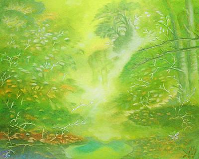 Pastel - Morning Flora by Gary Renegar