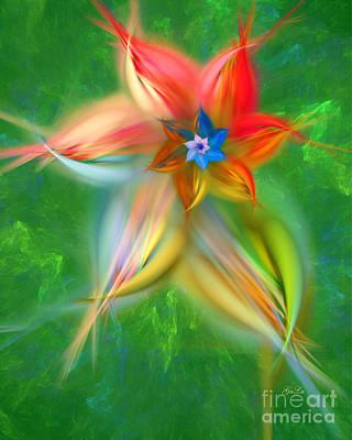 Western Art - Morning Flower  by Galina Lavrova