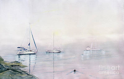 Painting - Morning Fog  by Melly Terpening