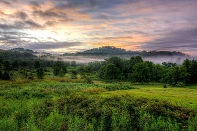 Photograph - Morning Fog by Brad Bellisle