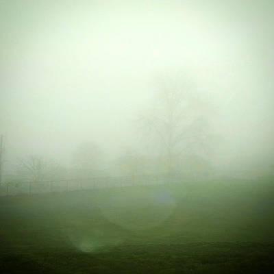 Photograph - Morning Fog by Eliaichi Kimaro