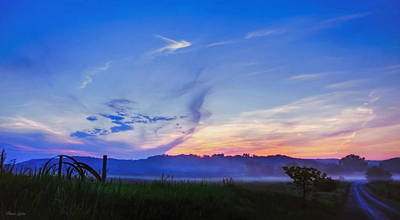 Photograph - Morning Fog Glow by Anna Louise