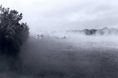 Photograph - Morning Fog - Hudson River by John Schneider