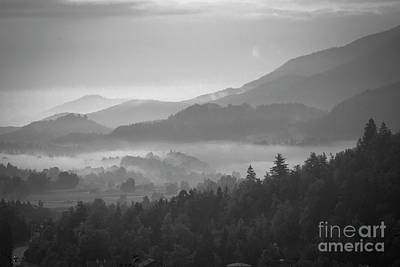 Photograph - Morning Fog In The Mountains by Juli Scalzi