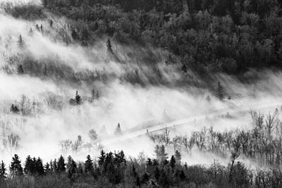 Photograph - Morning Fog by Ken Barrett