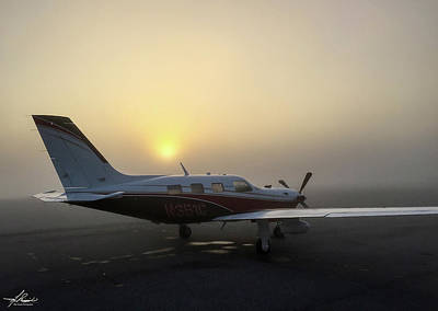 Photograph - Morning Fog On The Ramp by Philip Rispin