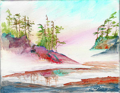 Painting - Morning Fog by Sherry Shipley