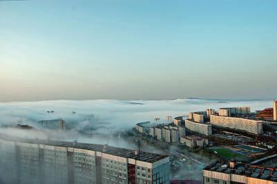 Morning Fog Print by Vadim Tereshchenko
