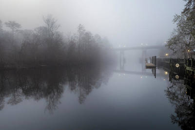 Photograph - Morning Fog by Van Sutherland