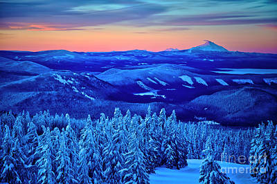Photograph - Morning From Timberline Lodge by Bruce Block