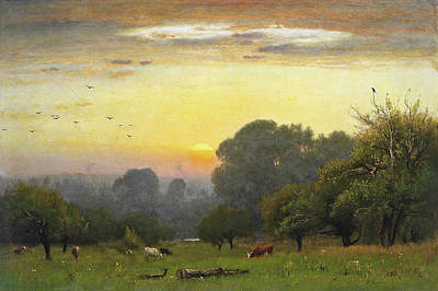 Tonalism Painting - Morning by George Inness
