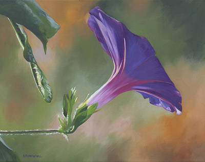 Painting - Morning Glory by Alecia Underhill