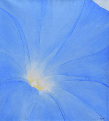 Painting - Morning Glory by Andrea Angulo